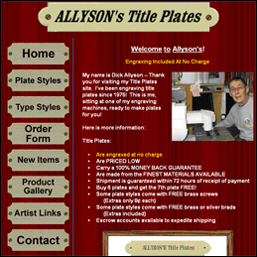 allysons title plates screen shot